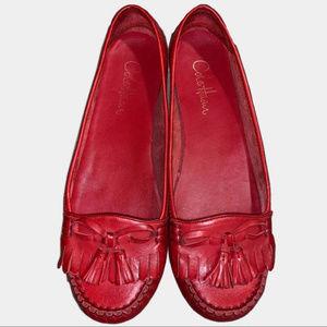Cole Haan Moc Toe Tassel Kiltie Fringe Loafer 8.5C